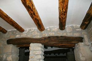 techo de madera tratada contra termita y carcoma