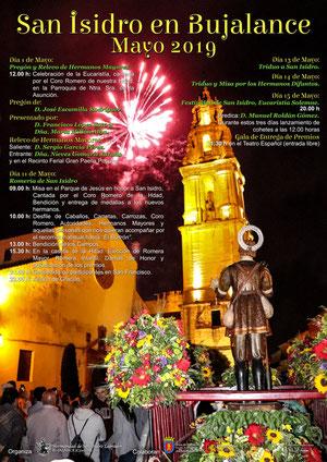 Fiestas en Bujalance Romeria de San Isidro