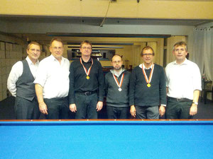 vlnr: Daniel, Andreas, Nicolas, Silvain, Bernhard, Christoph