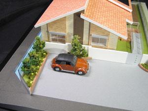 建築模型の館の1/72色付分解型模型