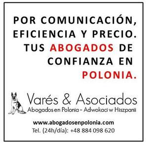 Varés & Asociados | Abogados en Polonia | Adwokaci w Hiszpanii