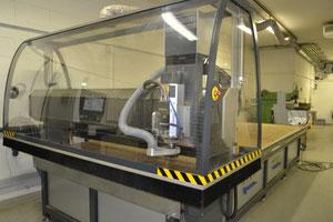 CNC-Fräsanlage für schwere Bauteile