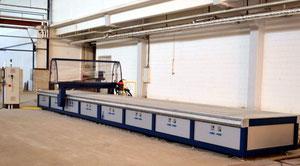 CNC-Fräsanlage 12x2 Meter