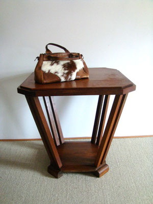 table guéridon vintage style art déco