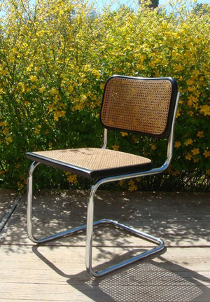 0201 1 chaises cesca b32 marcel breuer muros design et vintage en bourgogne. Black Bedroom Furniture Sets. Home Design Ideas