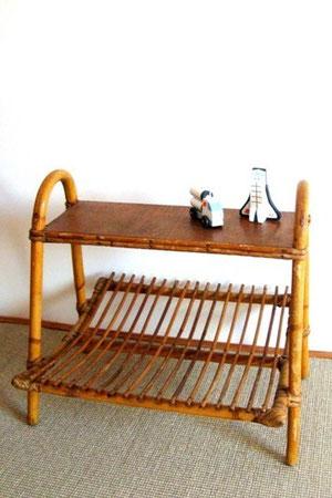 chevet rotin vintage muros design et vintage en bourgogne. Black Bedroom Furniture Sets. Home Design Ideas