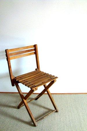 Petites chaises en bois pliantes adulte/enfant