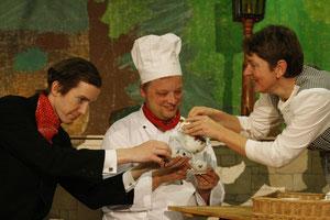 Henning Berghoff, Carsten Bock und Silke Kuchenbecker (vlnr)