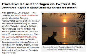 pressetext-Story zu #TravelLive