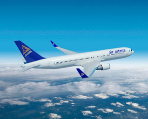 Air Astana's Boeing 767-300ER  /  company courtesy