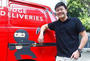 Ninja Van's chief executive Lai Chang Wen