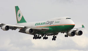 EVA to replace B747-400Fs with B777Fs