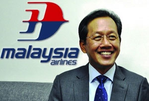 Malaysian Airlines new CEO, Izham Ismail  -  courtesy MAS