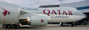 Qatar Airways B747-8 freighter - courtesy Qatar Airways