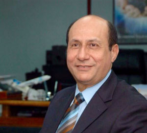 Egyptair CEO Captain Bassam Gohar – credit MS