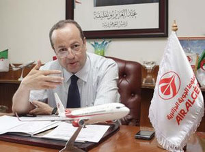 CEO Mohamed Salah Boultif splits up Air Algerie in different biz units  /  company courtesy