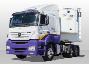 Brazilian Polar Transportes operates a fleet of 300 trucks, most of them equipped with cooling systems  -  company courtesy