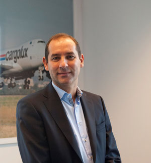 Vice President Sales of Cargolux, Chris Nielen  -  courtesy: CV