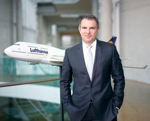 Lufthansa helmsman Carsten Spohr