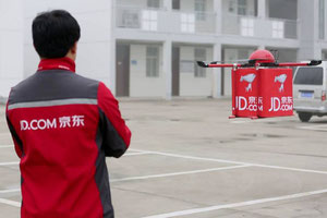 JD-com drone delivery tests