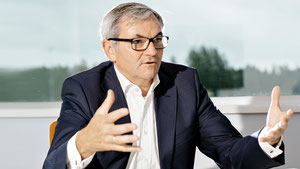 "Ewald Kaiser will head the new divison ""Freight"" at DB Schenker  -  picture: DB Schenker"