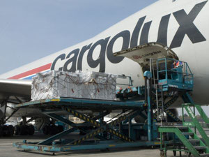 Cargolux uses squAIR-timber