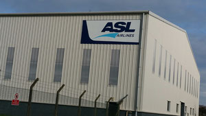 ASL hangar at Shannon Airport, Ireland – picture: hs
