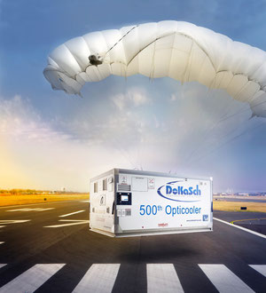 Descending from heaven? DoKaSch's Opticooler number 500 touches down on the earth  -  company courtesy