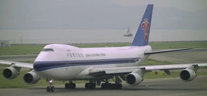China Southern operated Boeing 747-400F at Kansai Airport  /  courtesy CZ