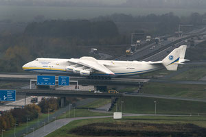 An-225 operator Antonov Airlines flew a very heavy consignment from Germany to Chile  -  courtesy: LEJ