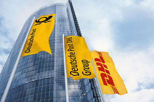 DP-DHL's headquarters in Bonn, Germany