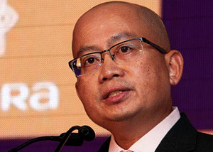 Pictured is Vistara CEO, Leslie Thng