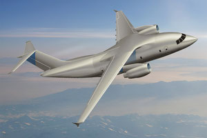The Ukraine-built future An-178 freighter can uplift 18 tons  /  source: Antonov