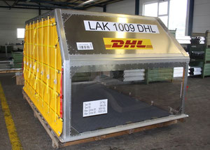 DHL Express is increasingly operating DoKaSch produced lightweights.