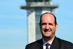 VP Bas van Goch of Air Cargo Belgium welcomes BRU's strategic vision  -  photo: ms
