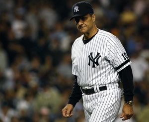 Joe Torre ex Manager degli Yankees