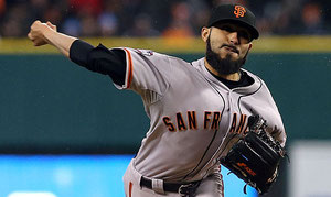 Sergio Romo closer dei Giants (Getty Images)