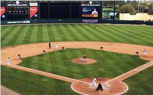 Il 4 Marzo 2014 durante lo spring training i National affrontarono i Braves a basi piene con cinque infield anziché quattro
