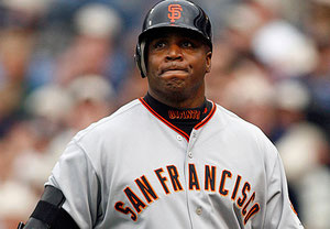 In foto Barry Bonds (Foto Denis Poroy/AP)