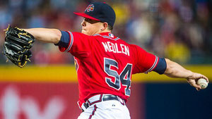 Kris Medlen dei Braves (GETTY IMAGES)