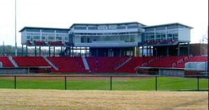 Nella foto il bellissimo Bogle Stadium dell'University of Arkansas