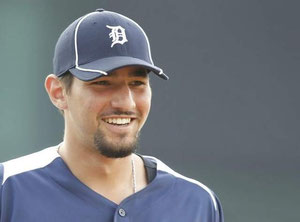 Nick Castellanos sostituirà Miguel Cabrera in terza base per i Tigers (Foto da Detroit FreePress)