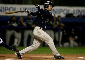 Stefano De Simoni con il Parma Baseball