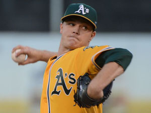 Sonny Gray pitcher degli Oakland (foto Kyle Terada, USA TODAY Sports)