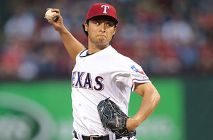 Nella foto Yu Darvish (R. Yeatts/Getty Images)