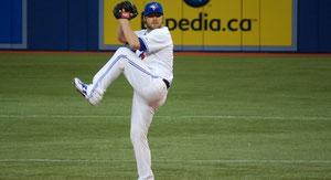 Kyle Drabek è un pitcher dei Toronto Blue Jays