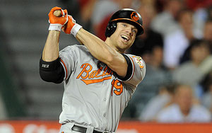 Chris Davis Prima base dei Baltimore Orioles