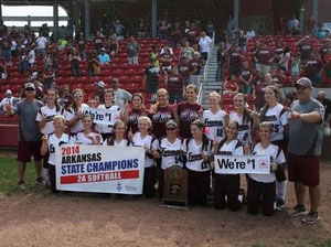 Le Campionesse dello stato dell'Arkansas Class 2A - Lady Gators - Foreman High School