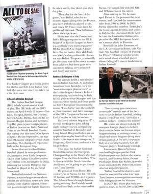 La quarta pagina dell'articolo su Ambassador