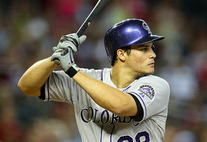 Nolan Arenado dei Rockies (Foto by Christian Petersen/Getty Images)